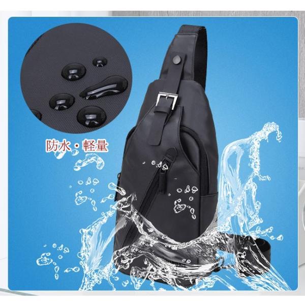 ボディバッグ メンズ ショルダーバッグ アウトドア ワンショルダー 防水 軽量|ejej-shopping|08