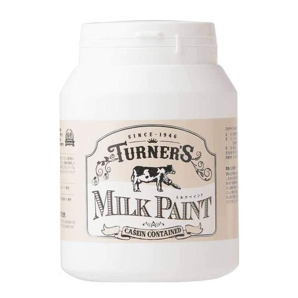 ターナー色彩  ミルクペイント 450ml 水性 塗料 マット感 おしゃれ ペンキ DIY