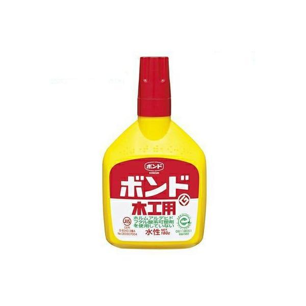 KONISHI ボンド 木工用 180g #10132(コニシ 接着剤 のり 糊 安全 工作 手芸 家具 合板 壁 DIY JIS