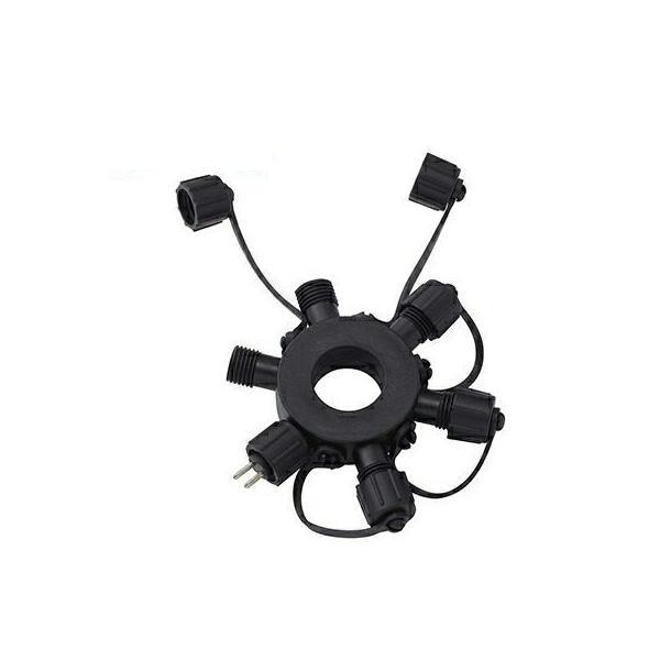 RoomClip商品情報 - タカショー ローボルト ガーデンライト専用 ジャンクション プラグ 5分岐 LGL-02