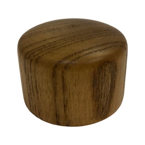 八幡ねじ エンドキャップ木製 ブロンズ 35mm用 4979874413093