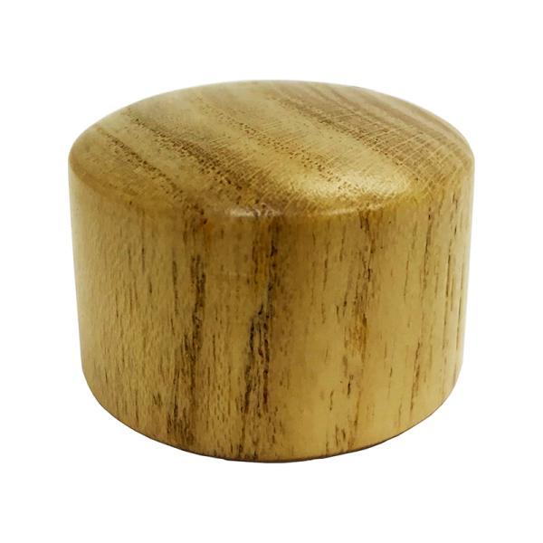 八幡ねじ エンドキャップ木製 ナチュラル35mm用 4979874413109