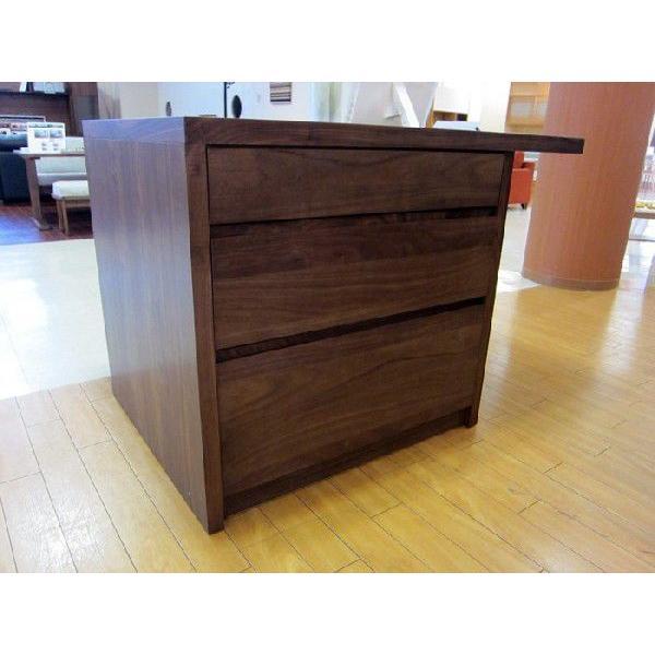 ミーア120カウンターテーブル ウォールナット Mia120RN CounterTable W120×D80×H85|ekaguya|02