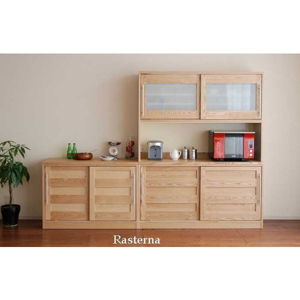 Rasterna ラスターナ レンジ160TN色 タモ材 W1602×H2000×D500 ラテリエ L'atelier|ekaguya