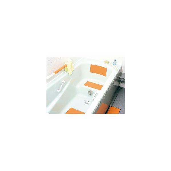 バスマット 浴槽マット 風呂 滑り止め 転倒防止 G+スーパー浴室シート (2枚入)  W-241  マーナ (滑り止めマット 風呂 滑り止め 浴槽