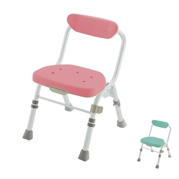 シャワーチェア 介護用風呂椅子 リッチェル 折りたたみシャワーチェア M型 背付H 入浴用品 入浴用椅子 お風呂用いす コンパクト  介護用品