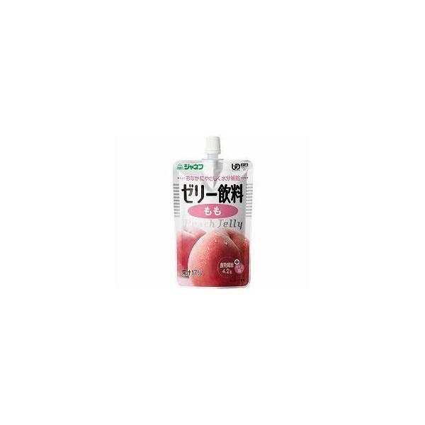 キューピー ジャネフ ゼリー飲料 もも 12911  100g (介護食 栄養補助食品 水分補給) 介護用品