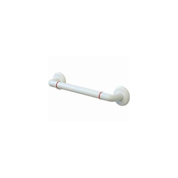(受注生産品) (代引き不可)浴室オーダー手すり インナーI型 前出65mmタイプ CEM-1 ホワイト 50cm 矢崎化工 (入浴用手すり お風呂用手すり) 介護用品