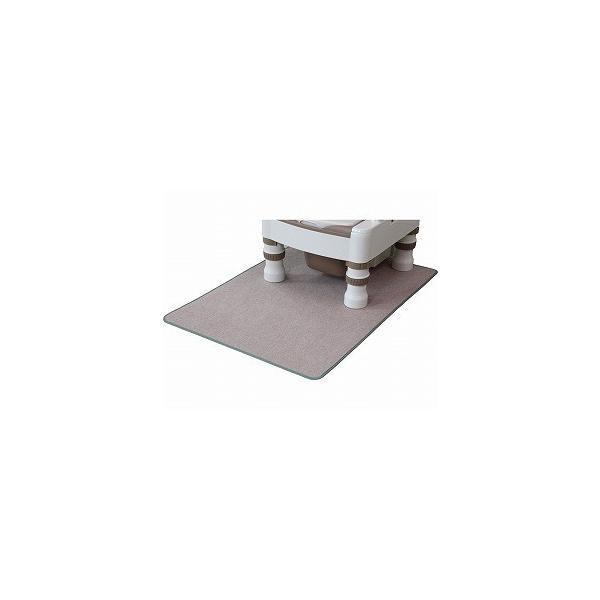 消臭トイレマット KGS-710 ベージュ ワタナベ工業 (手洗い可 消臭 テイジン フレッシュコール) 介護用品
