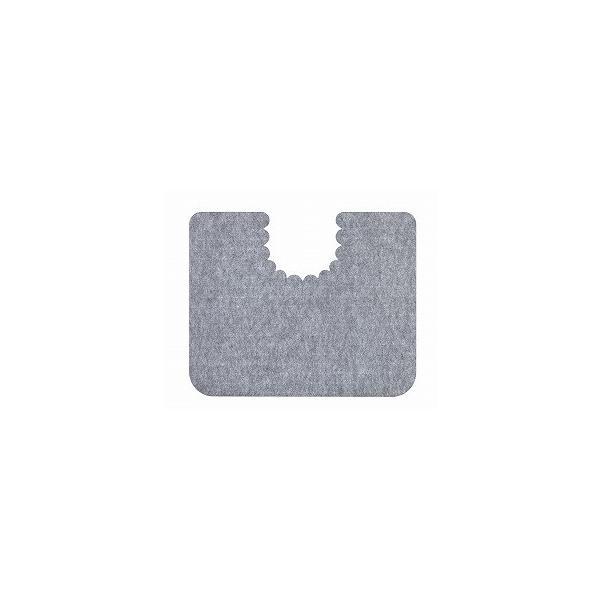 床汚れ防止マット 5枚組 KH-16 グレー サンコー (トイレ マット) 介護用品