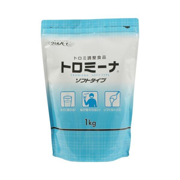 トロミーナ ソフトタイプ  1kg ウエルハーモニー (とろみ剤 とろみ 介護食 食品) 介護用品
