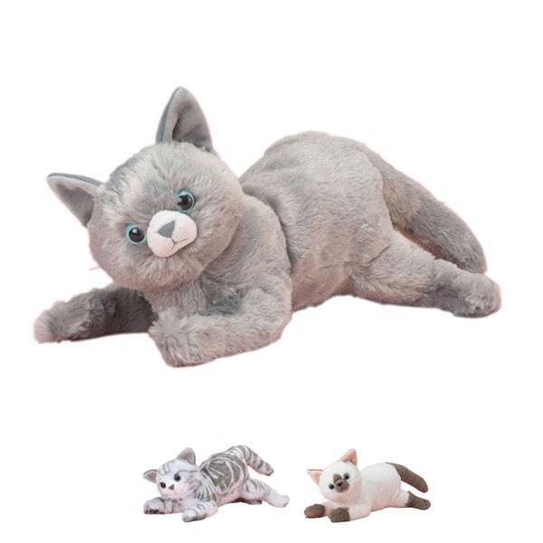 なでなでねこちゃんDX3 トレンドマスター (介護 ぬいぐるみ 猫 癒し) 介護用品