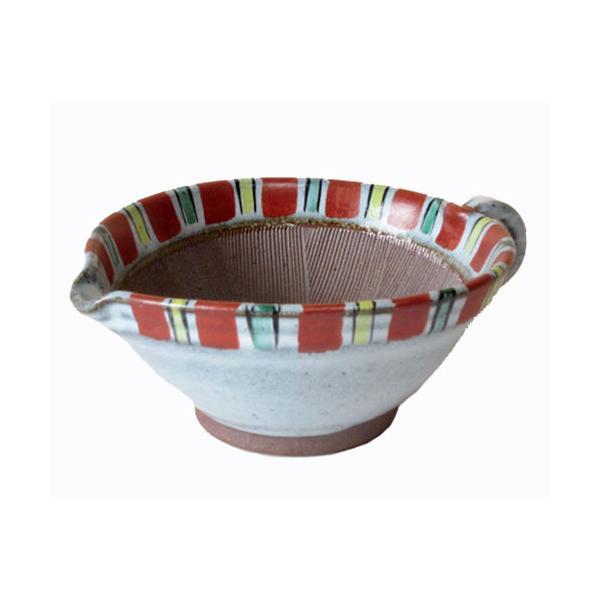 すり鉢 5号 赤トクサ ごまだれ鉢 (大) (14.5cm) キッチン用品 食器 調理器具