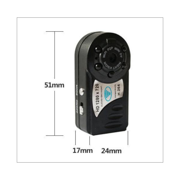 録画機不要 充電式超小型 無線防犯カメラ ネット環境不要 無線監視カメラ MicroSDカード録画 暗視 屋内 AP-Q8|ekou|02