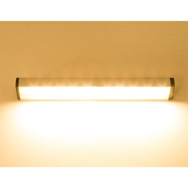 人感 LEDセンサーライト 電池式  人体感知 配線工事不要 小型 乾電池 フットライト防犯 災害 非常灯 昼白色 C-SSL|ekou|04