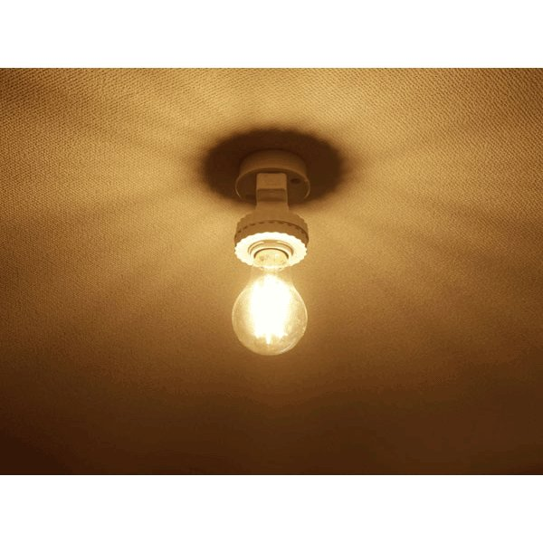 LED電球 E26 フィラメント クリア広角360度 6W 600LM LED 電球色 エジソンランプ エジソン球 E26-6WA-Y ekou 02