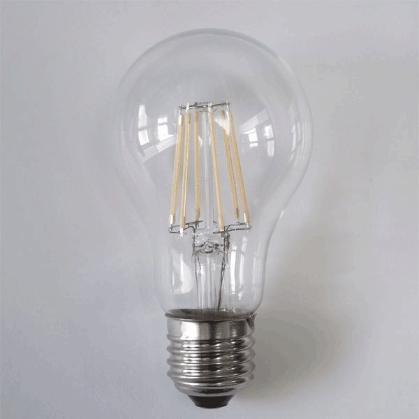 LED電球 E26 フィラメント クリア広角360度 6W 600LM LED 電球色 エジソンランプ エジソン球 E26-6WA-Y ekou 03