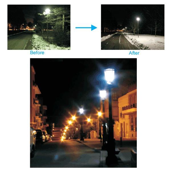 LED水銀ランプ 200W水銀灯交換用 E39 50W 6000LM LEDコーンライト街路灯 昼白色 防水 E39-conel-50w|ekou|05