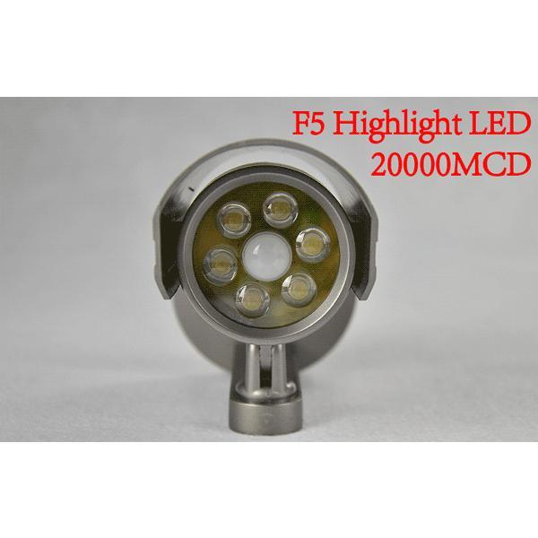 屋外用 ダミー防犯カメラ LEDセンサーライト 防水 人体感知 配線工事不要 昼白色 電池式 F-SSL ekou 04