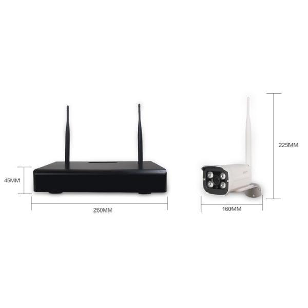 防犯カメラ 2台セット スマホ・PCで遠隔監視 WiFi無線接続可能 IP WEB カメラ 赤外線暗視防犯セキュリティ 送料無料 LS-F2-2set|ekou|03