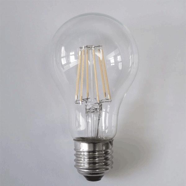 LED電球 E26 調光対応 フィラメント 50W相当 クリア広角360度 6W 600LM LED 電球色 エジソンランプ エジソン球 TKE26-6WA-Y|ekou|03