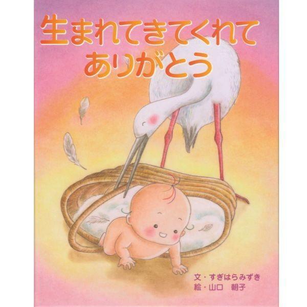 オリジナル絵本「生まれてきてくれてありがとう」 出産祝い/誕生記念 1歳の誕生日 ディライトブック メール便OK  ekubo-tsuuhan