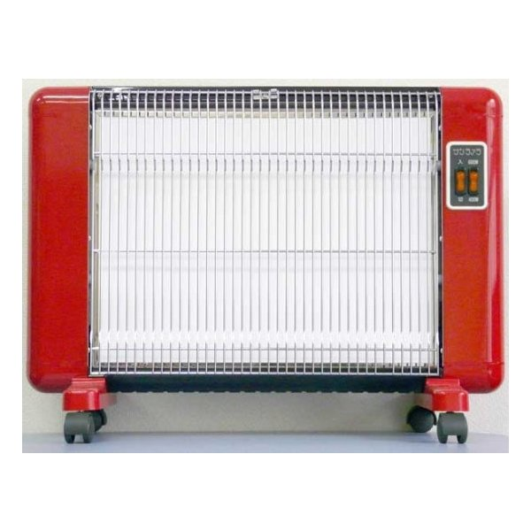 サンラメラ 600W型(ホワイト、レッド)  遠赤外線暖房機  カラダの芯からポカポカ