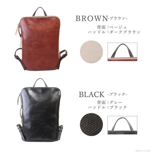 リュック メンズ メンズリュック 人気 ブランド おすすめ おしゃれ A4 本革 帆布 alto. ZARIO-GRANDEE- リュックサック 薄マチ 薄い A4サイズ 日本製 AMSB-1144|el-diablo|12