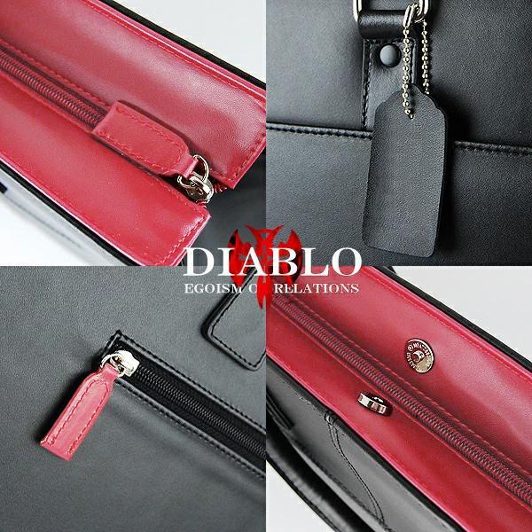 ビジネスバッグ メンズ 革 レザー ビジネスバック ビジネス バッグ 鞄 ツートンカラー DIABLO 2色|el-diablo|02