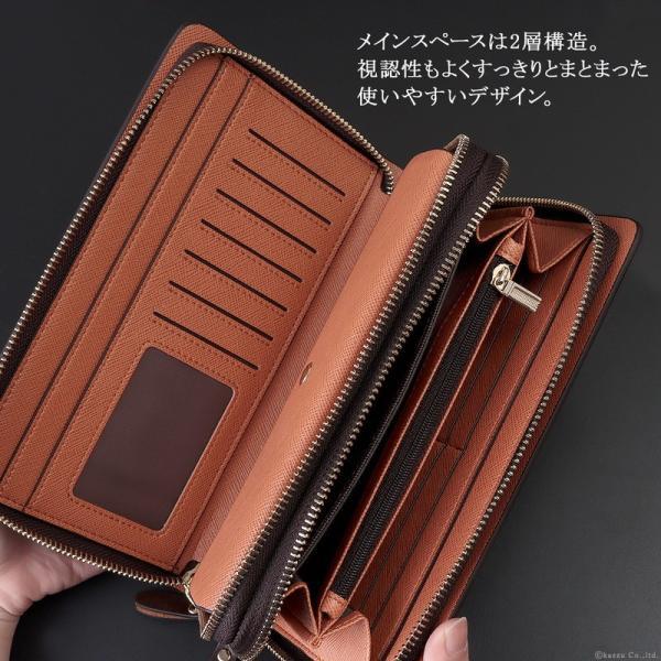 セカンドバッグ メンズ 鞄 本革 スペインレザー ダブルファスナー 2色 el-diablo 05