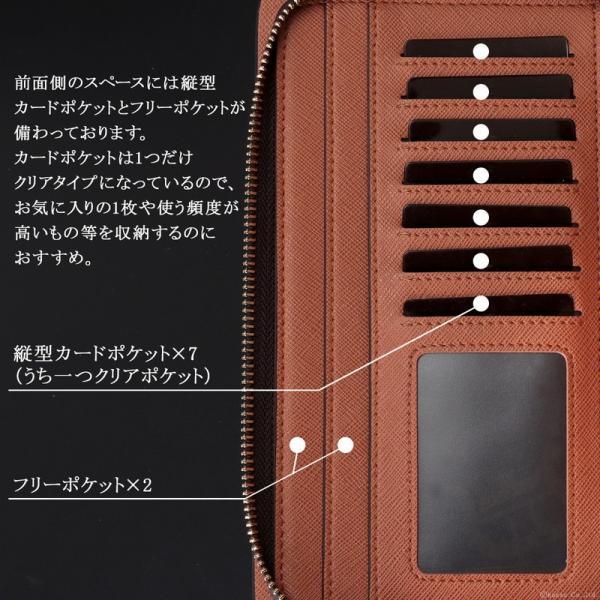 セカンドバッグ メンズ 鞄 本革 スペインレザー ダブルファスナー 2色 el-diablo 06