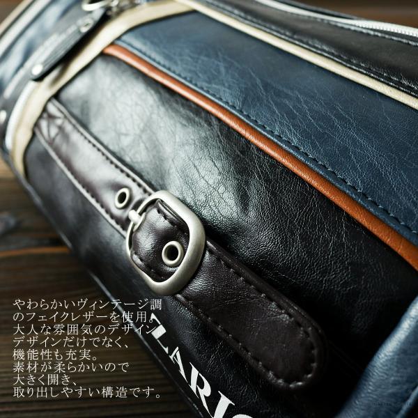 ボディバッグ メンズ 人気 メンズボディバッグ 鞄 フェイクレザー ZA-1001|el-diablo|03