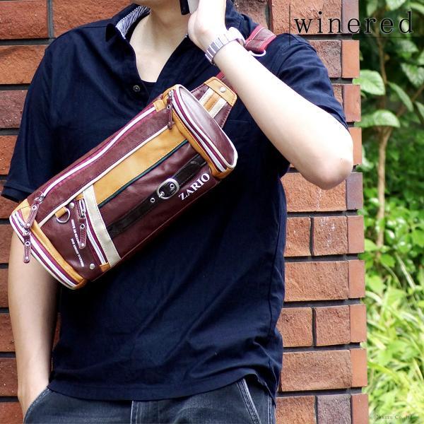 ボディバッグ メンズ 人気 メンズボディバッグ 鞄 フェイクレザー ZA-1001|el-diablo|05