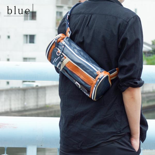 ボディバッグ メンズ 人気 メンズボディバッグ 鞄 フェイクレザー ZA-1001|el-diablo|06