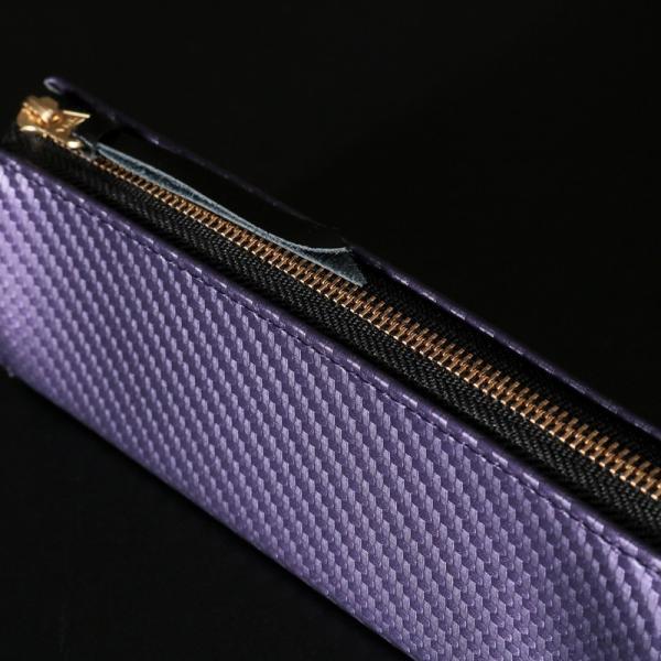 ペンケース 筆箱 三角ペンケース メンズ カーボンデザイン バイカラー DIABLO×Merge MGD-1941|el-diablo|13
