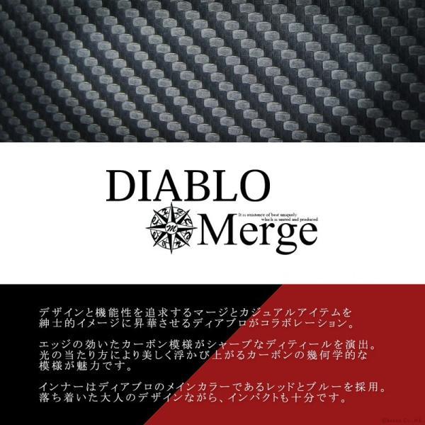 セカンドバッグ メンズ メンズセカンドバッグ クラッチバッグ 50代 40代 30代 カーボン加工 ダブルファスナー 大容量 ボックス型 BOX型 DIABLO Merge MGD-2547|el-diablo|02