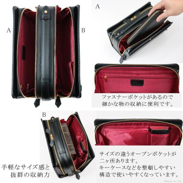 セカンドバッグ メンズ メンズセカンドバッグ クラッチバッグ 50代 40代 30代 カーボン加工 ダブルファスナー 大容量 ボックス型 BOX型 DIABLO Merge MGD-2547|el-diablo|05