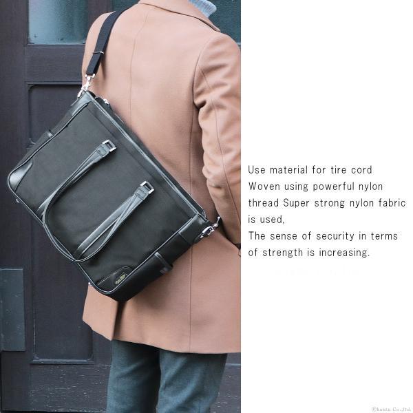 ビジネスバッグ メンズ トートバッグ ナイロン A4 通勤鞄 ビジカジ バッグ 日本製 PREM EDITOR #0275100|el-diablo|02
