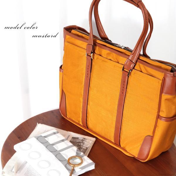 ビジネスバッグ メンズ トートバッグ ナイロン A4 通勤鞄 ビジカジ バッグ 日本製 PREM EDITOR #0275100|el-diablo|04