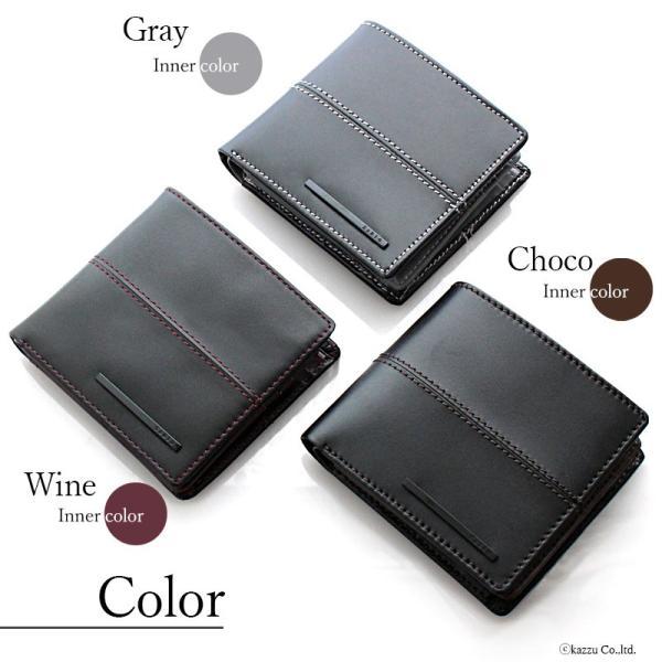 財布 メンズ 二つ折り 革 二つ折り財布 短財布 レザー 大容量 カード収納 ショートウォレット ZARIO ZA-1102|el-diablo|05