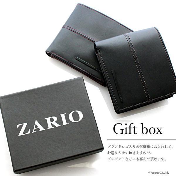 財布 メンズ 二つ折り 革 二つ折り財布 短財布 レザー 大容量 カード収納 ショートウォレット ZARIO ZA-1102|el-diablo|06