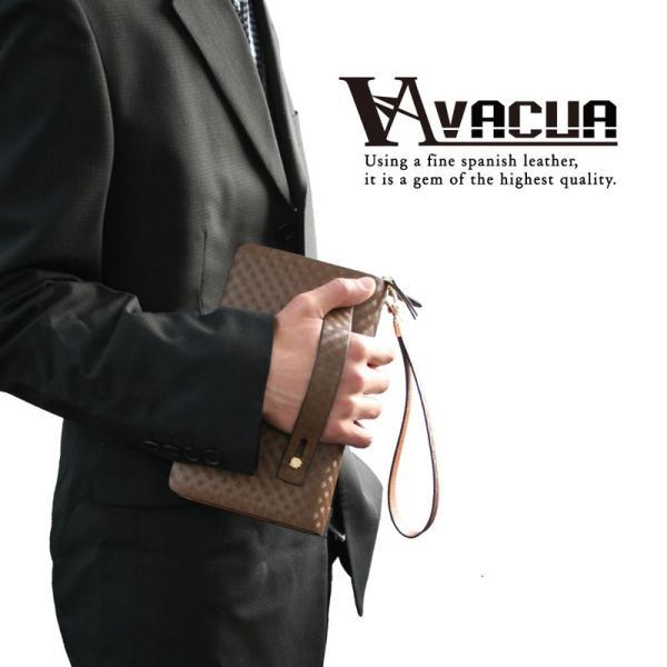 セカンドバッグ メンズ 鞄 本革 スペインレザー ダブルファスナー メッシュ 4色 * el-diablo 02