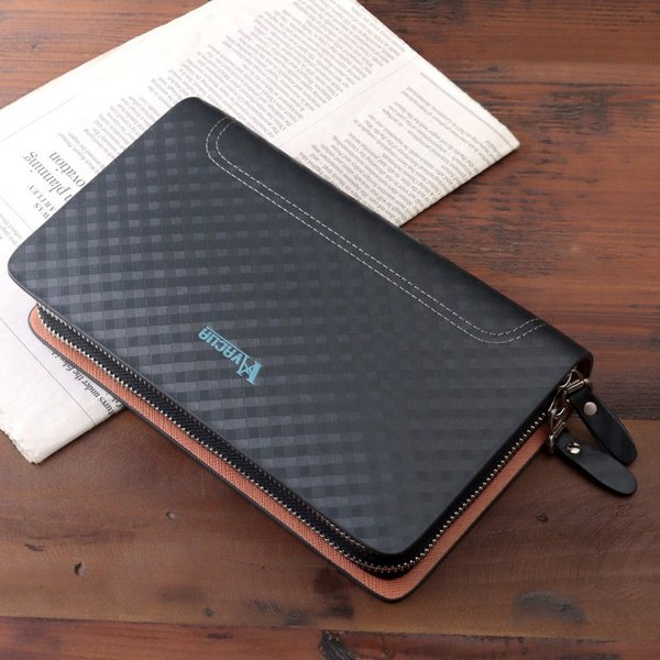 セカンドバッグ メンズ 鞄 本革 スペインレザー ダブルファスナー メッシュ VACUA VA-004|el-diablo|04