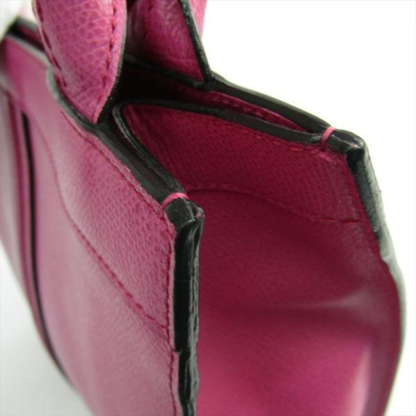 ヴァレクストラ パンチ スモール V5U06 レディース レザー トートバッグ ピンク
