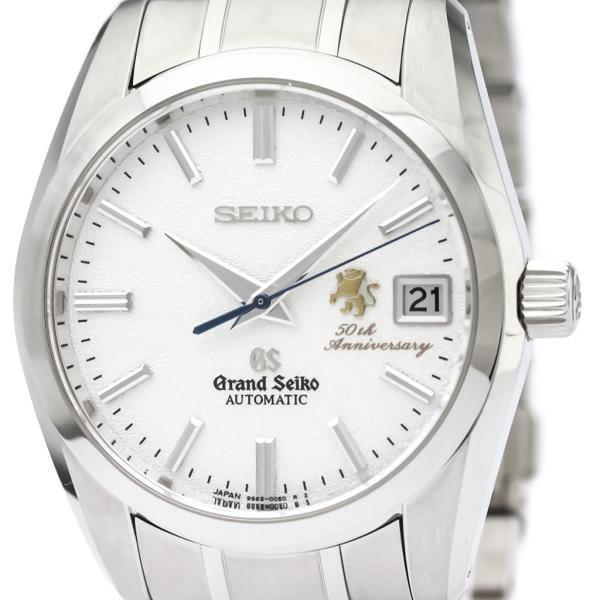 グランドセイコー  50周年記念限定 ステンレススチール 自動巻き メンズ 時計 SBGR065 【中古】