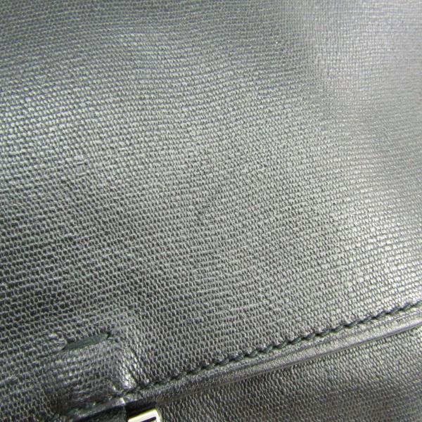 サン・ローラン 247434 メンズ レザー ショルダーバッグ ブラック