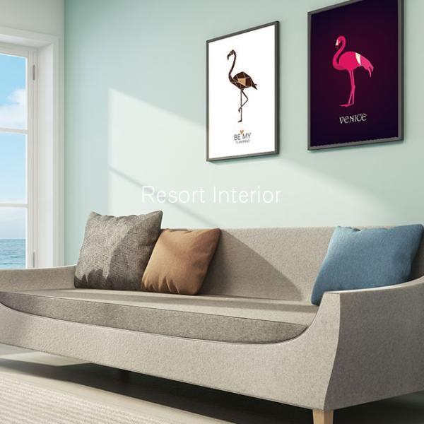 A2 BOHO アートポスター インテリア 北欧 西海岸 ビッグ 特大 ポスター おしゃれ かわいい オフィス リビング 店舗 デザイン アート 海 上品 elandsea 09