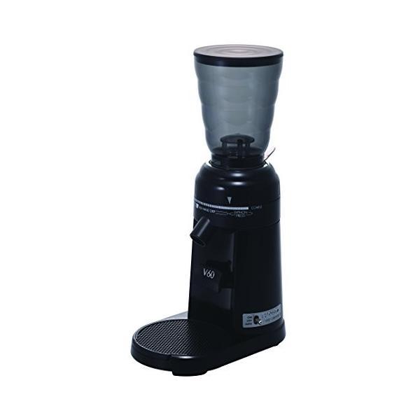 ハリオ 電動コーヒーミル V60 コーヒーグラインダー EVCG-8B-J elcielo