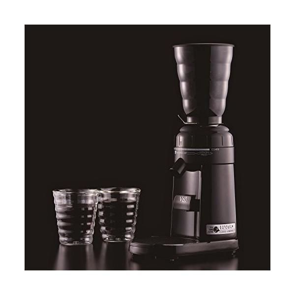 ハリオ 電動コーヒーミル V60 コーヒーグラインダー EVCG-8B-J elcielo 02
