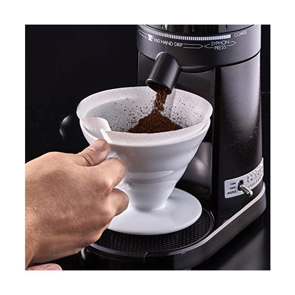 ハリオ 電動コーヒーミル V60 コーヒーグラインダー EVCG-8B-J elcielo 03